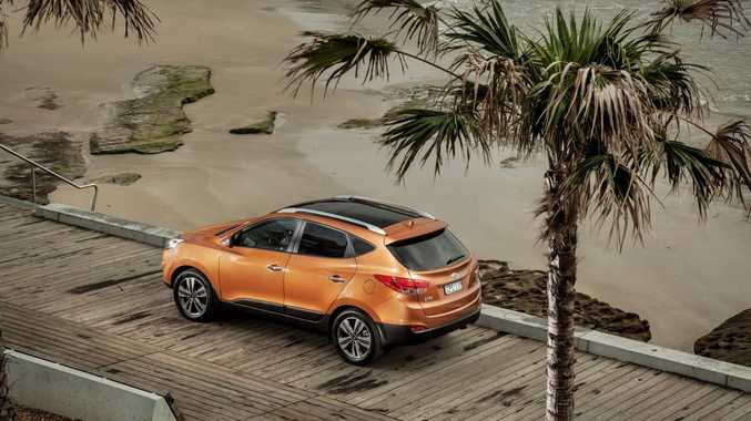 The new Hyundai ix35 Series II.
