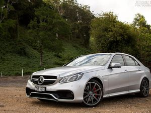 Astounding power in the Mercedes-Benz E63 AMG S