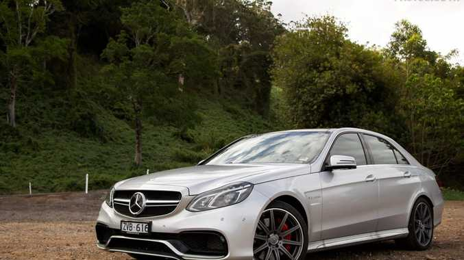 The Mercedes-Benz E63 AMG S.