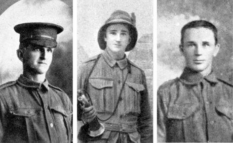Thomas, Alfred and Arthur Mudge