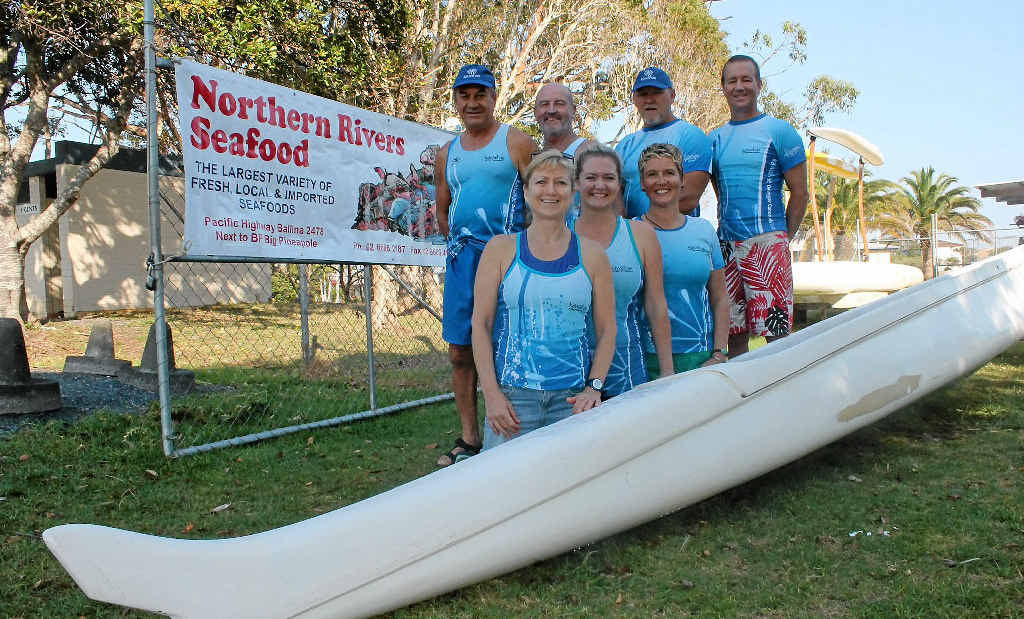 HAVE A PADDLE: Join members of Ballina's Kawaihae Outrigger Canoe Club on a Round the Island paddle challenge on Saturday, November 16.