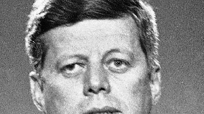 1963: John F. Kennedy.