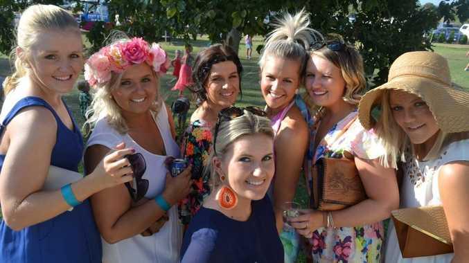 Tammy Pukallus, Katie Taylor, Emily Gleeson, Hayley Scarlett, Mika Mason, Sharn Bullock and Steph Davies. Photo Alasdair Young / Chinchilla News