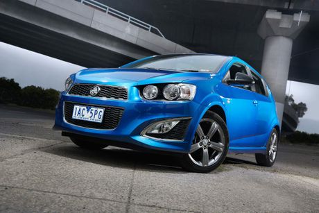 The Holden Barina RS.