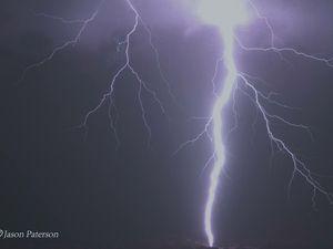 Lightning strike may have set granny flat ablaze, say police