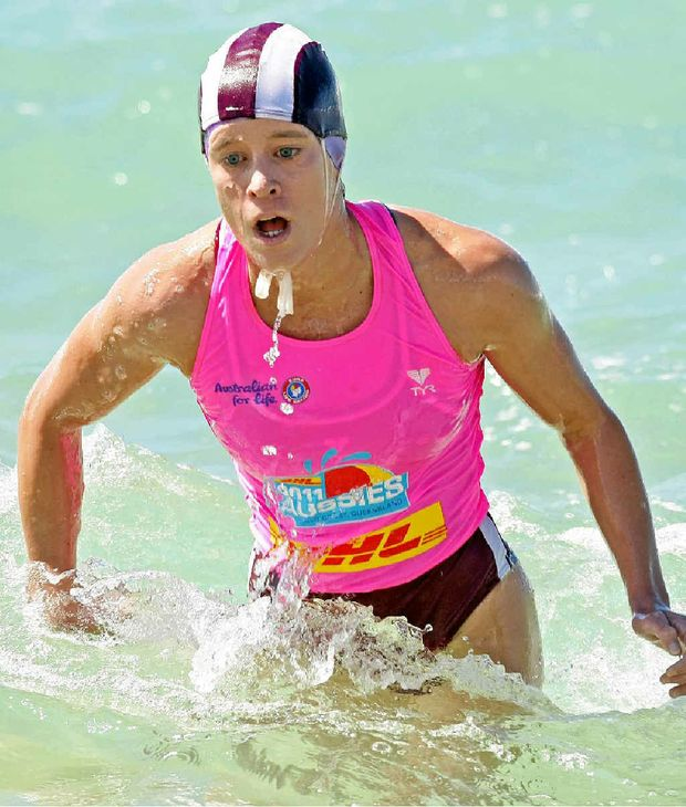 TALENT IDENTIFIED: Former top Mooloolaba ironwoman Kelly-Ann Perkins has given the sport the flick in favour of triathlon, with the support of Triathlon Australia.