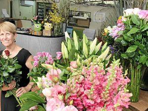 Joy of fresh flowers grown locally