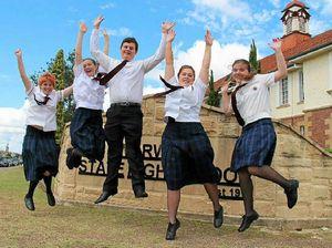 School achievers set eye on future