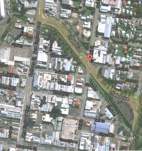 The Toowoomba CBD is being evacuated after a gas pipeline ruptured tonight.
