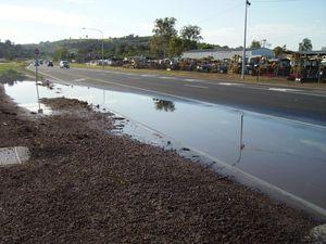 Minden Crossroads left flooded after storm