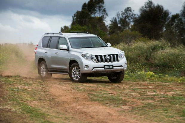 The Toyota LandCruiser Prado in Kakadu specification.