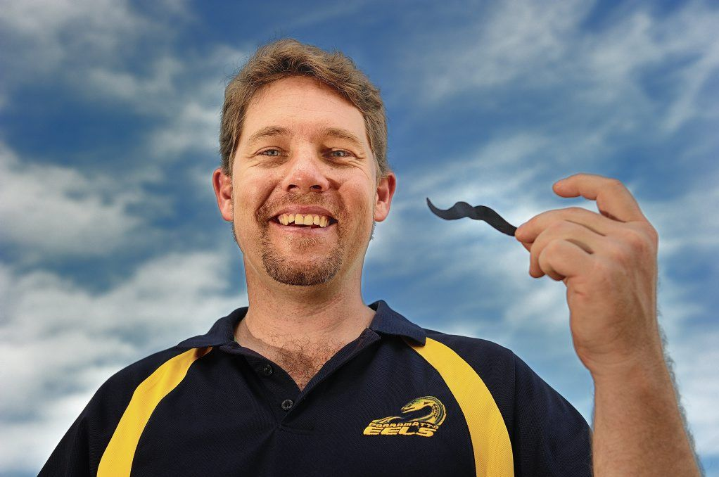 Mark Hodge is participating in Movember this year.