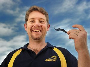 Teacher shaves cookie duster for men's cancer research