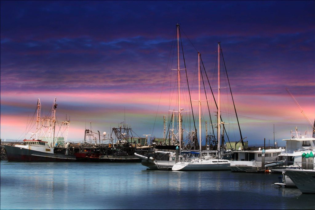This photo of the Hervey Bay marina has been named our Facebook photo of the week.
