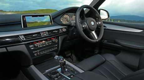 Inside the new BMW X5.