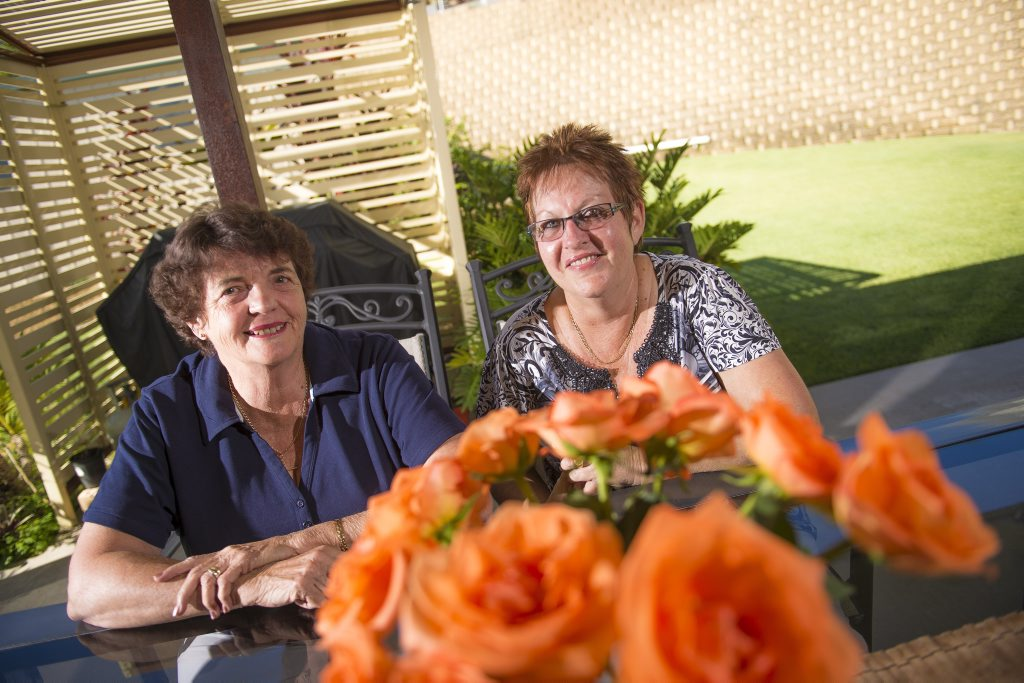 FUNDRAISING SUCCESS: Gladstone Hospital Auxiliary Association secretary Cheryl Bensted and president Kerry Rose.