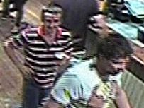 Police have released this image of two men who may be able to assist with their enquiries into a sexual assault.