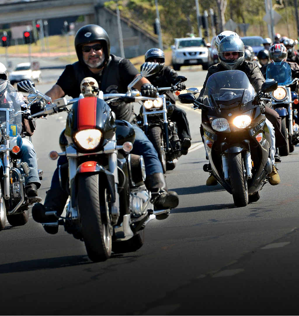 MINORITY VOTE: Only 16% of respondents strongly agreed that bikie gangs were a major threat.