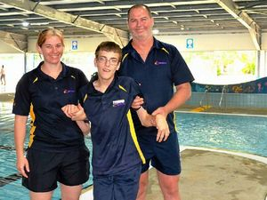 Teen diving in to centre experience
