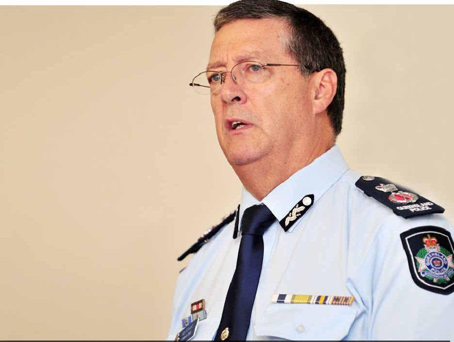 IN SAFE HANDS: Queensland police commissioner Ian Stewart.