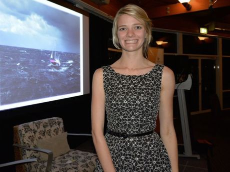 Jessica Watson was the guest speaker at the Australian Institute of Company Directors Sunshine Coast Christmas dinner.