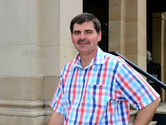 Peter Freeleagus is raising money for Movember. Photo: Sharyn O'Neill / The Morning Bulletin.