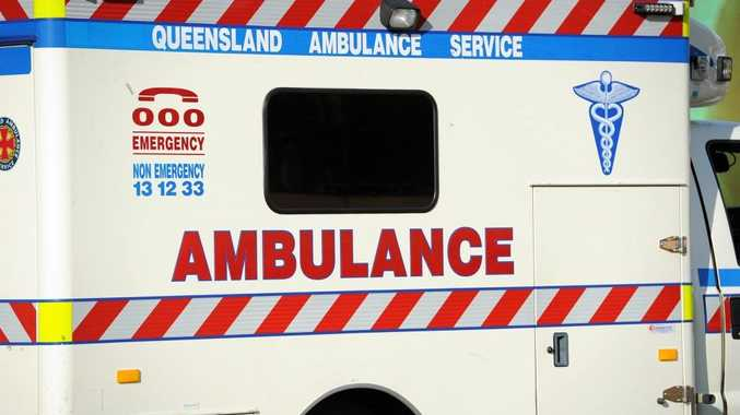 A three-year-old was hit by a car at Sarina.