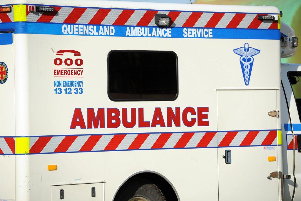 A three-year-old was hit by a car at Sarina.