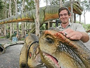 Palmer's Palmersaurus dino park set to open next month