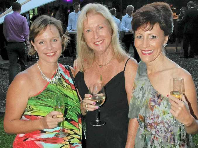 Paula Hay, Leigh Rachow and Melissa Sheridan.
