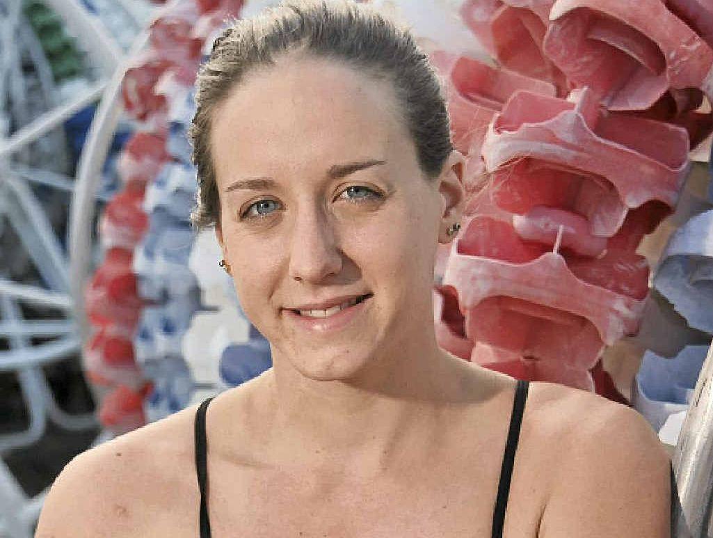 AT CROSSROADS: Olympian Samantha Hamill.