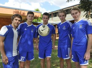 Team mates muster support for teen burns victim
