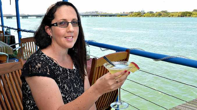 Jodie Vella invites women to join her at a fundraising event in Mackay.