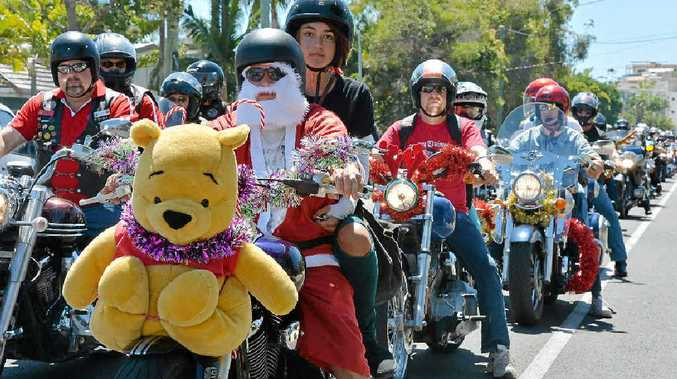 ALL LEGAL: Bikers from far and wide will band together for a Christmas Toy Run to give toys to disadvantaged children this Christmas.