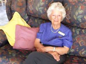 June enjoys helping the Extremely Disabled War Veterans