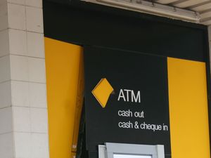 Protest outside Commonwealth Bank