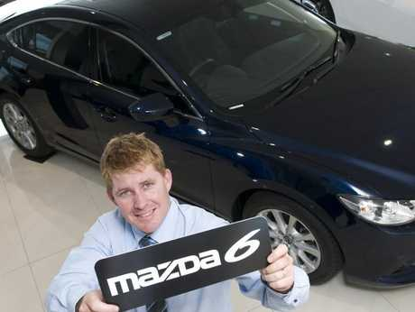 Wippell's Auto Mazda sales manager Ben Holmes.
