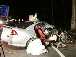 Man dies in second highway crash in one day