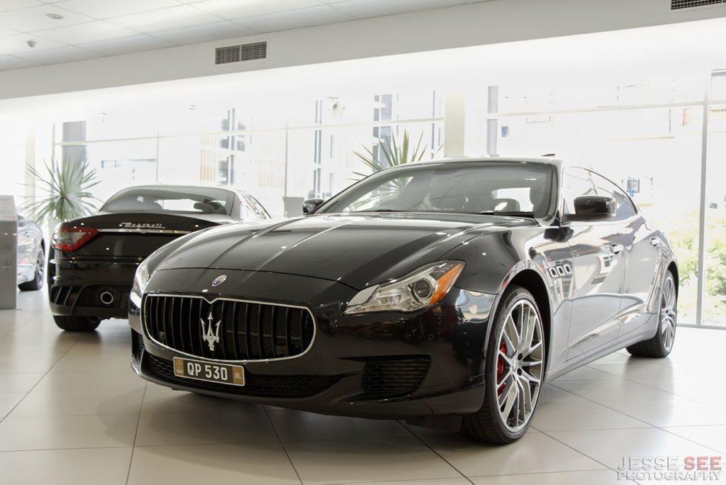The 2014 Maserati Quattroporte GTS.