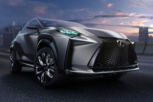 The Lexus LF-NX Turbo.