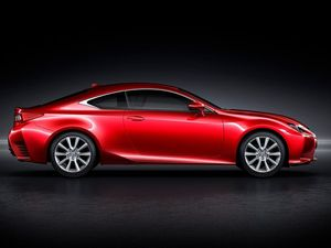 Lexus goes sporty with new RC coupe variant