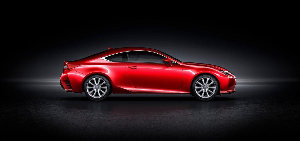 The Lexus RC Coupe.