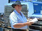 SCORING POINTS: Somerset Mayor Graeme Lehmann acts as judge at the Big Banger Truck Show at Lowood.