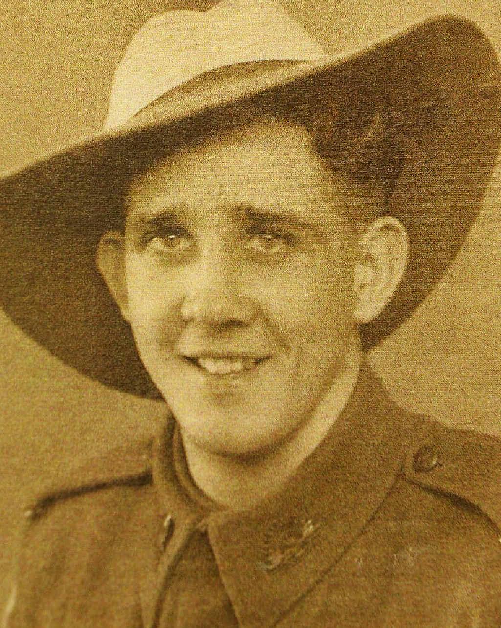 Mr Smith in his service uniform.