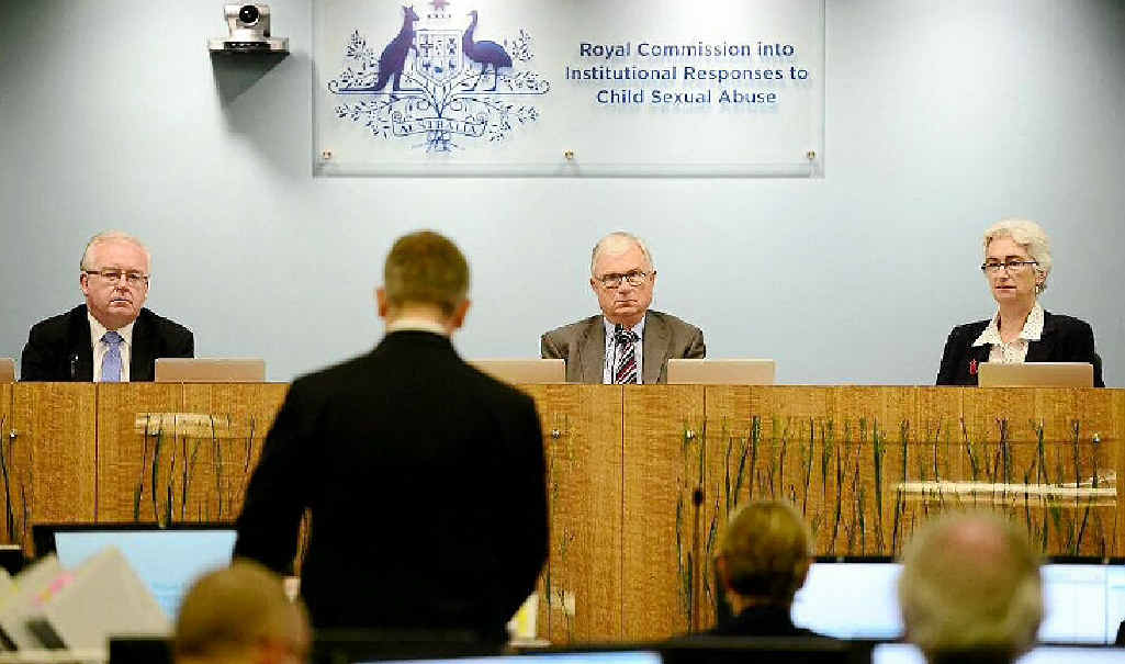 Commissioners on the first day of the Royal Commission into Institutional Responses to Child Sex Abuse. Photo Contributed Twitter