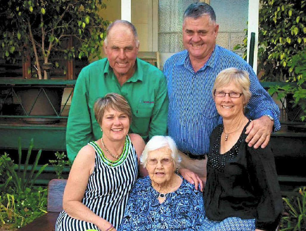 Laura Burnett and her family, John Burnett,