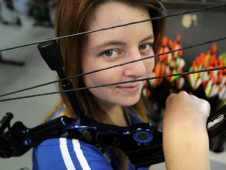 Toowoomba archer Jess McFarlane.