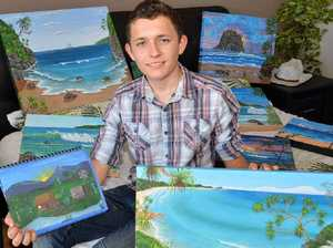 Young artist has a true flair for fine art