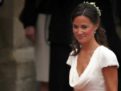 GO GIRL: Pippa Middleton did a top job as bridesmaid at her big sister Kate's wedding to Prince William.