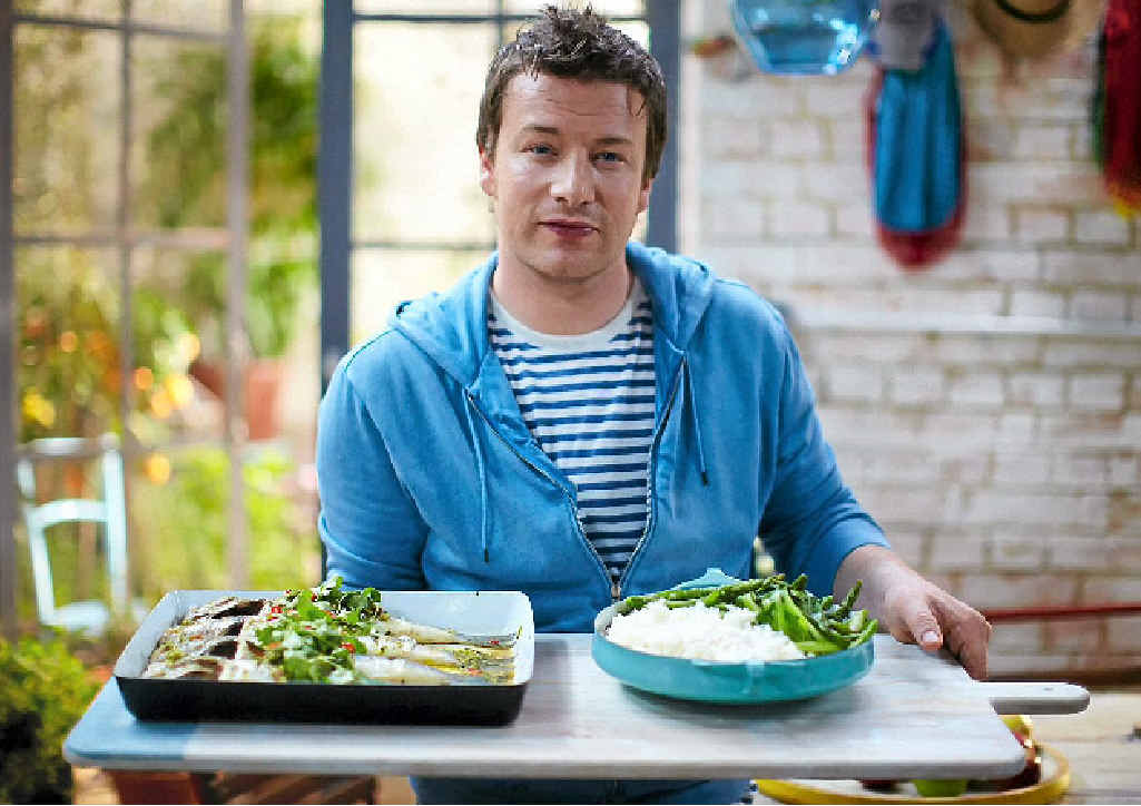HEALTHY PLATE: In a win for Australian growers, Jamie Oliver has signed on with Woolworths.
